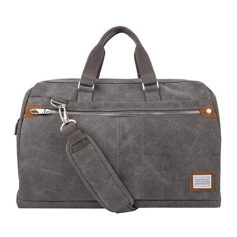Travelon Anti-Theft Heritage Weekender Carryall. Grey