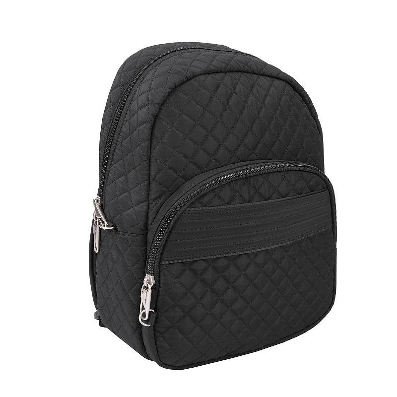 Travelon Anti-Theft Boho Backpack. Black