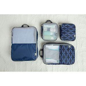 Travelon 4-Piece Soft Packing Organizer Set