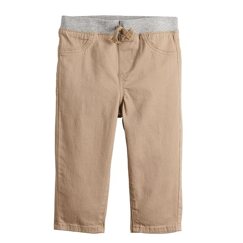 Baby Boy Jumping Beans® Pull On Flat Front Pants