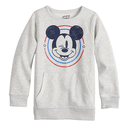 Disney's Mickey Mouse Girls 4-12 Adaptive Fleece Sweatshirt by Jumping Beans®