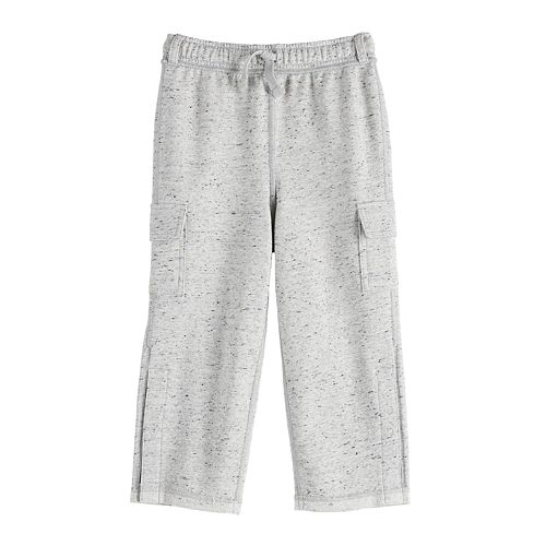 Boys 4-12 Jumping Beans® Adaptive French Terry Cargo Pants