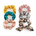SO® Metallic Scrunchie Set