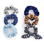 SO® Floral & Polka Dot Scrunchie Set