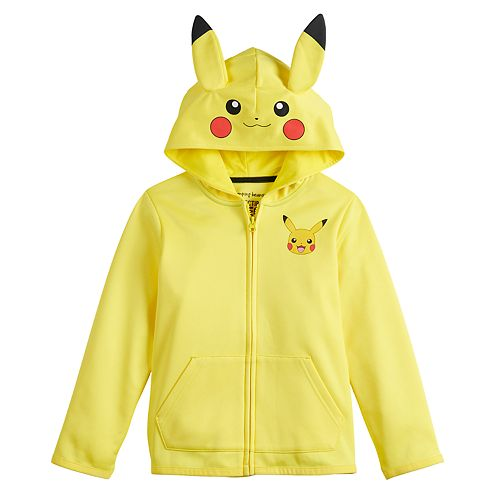 Boys 4-12 Jumping Beans® Pokemon Pikachu Costume Hoodie