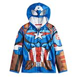 Boys 4-12 Jumping Beans® Marvel Captain America Costume Hoodie