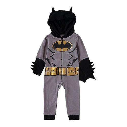 Baby Boy Batman Caped Romper