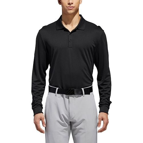 Men's adidas Performance Long Sleeve Polo