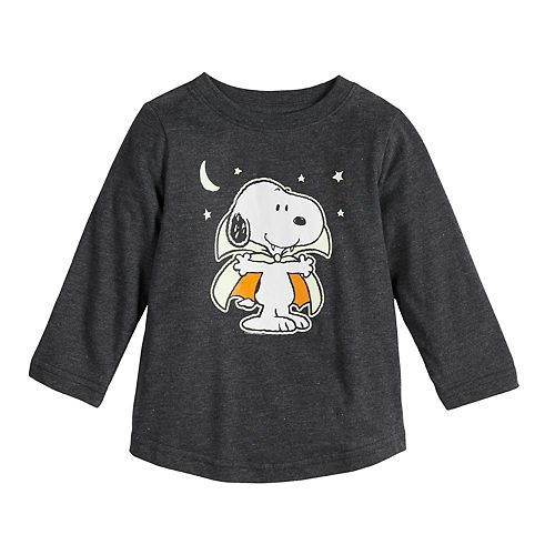 Baby Family Fun Peanuts Snoopy Halloween Graphic Tee