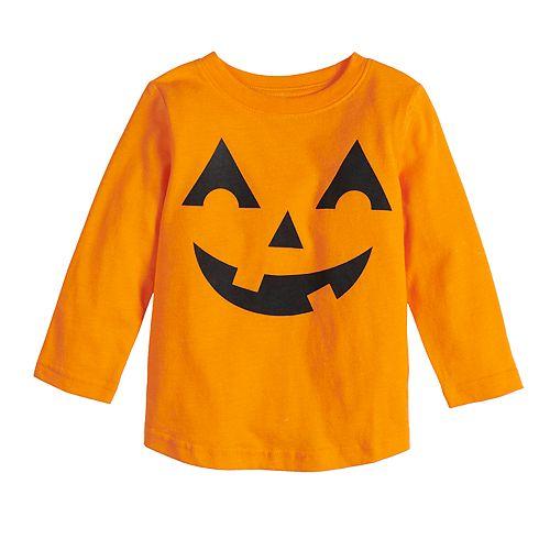 Baby Family Fun™ Halloween Jack-o'-lantern Graphic Tee