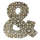 SONOMA Goods for Life? Wood Carved Ampersand Table Decor