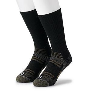 Mens IQ Brands Men's Wool Repreve Crew Socks