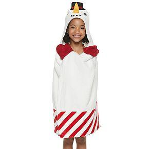 The Big One® Snowman Hooded Bath Wrap
