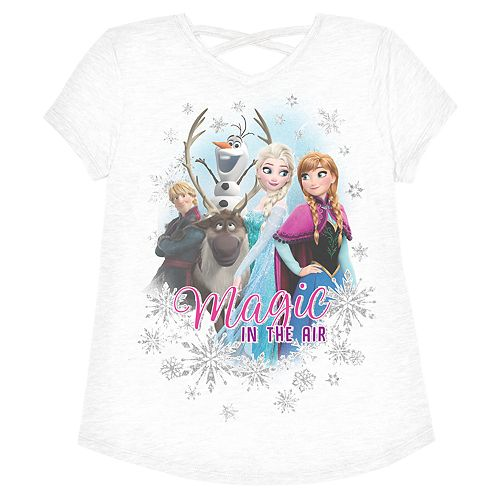 "Disney's Frozen Girls 4-12 ""Magic In The Air"" Graphic Tee by Jumping Beans®"