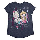 Disney's Frozen Elsa & Anna Girls 4-12 Graphic Tee by Jumping Beans®