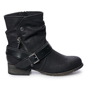 SO® Caper Women's Buckle Boots