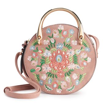 Women's Violet Ray Floral Embroidered Canteen