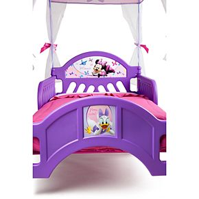 Delta Children Disney's Minnie Mouse Toddler Canopy Bed