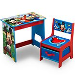 Delta Children Disney's Mickey Mouse Kids Wood Desk and Chair Set