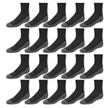 Boys 8-20 Tek Gear® Lightweight Performance 20-Pack Quarter-Crew Socks