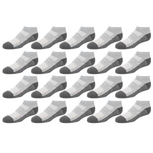 Boys 8-20 Tek Gear® Lightweight Performance 20-Pack Low-Cut Socks