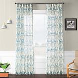 EFF Printed Sheer Curtain