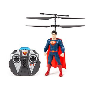 World Tech Toys Superman Flying Figure 2 Channel Helicopter