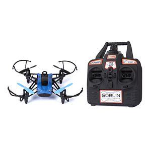 World Tech Toys Elite Goblin 2.4GHz 4.5CH 25 MPH RC Racing Drone Quadcopter (Blue)