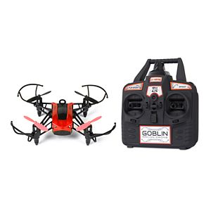 World Tech Toys Elite Goblin 2.4GHz 4.5CH 25 MPH RC Racing Quadcopter Drone (Red)