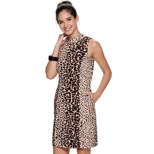 Women's Apt. 9® Sleeveless Mockneck Sheath Dress