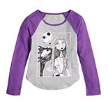 Disney's Nightmare Before Christmas Girls 7-16 Halloween Graphic Tee by Family Fun