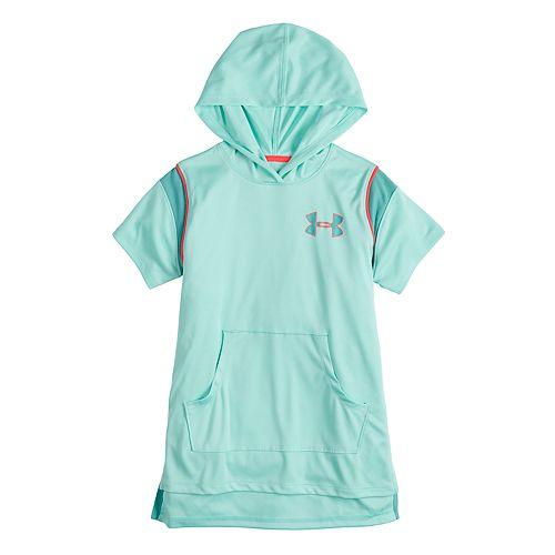 Girls 7-16 Under Armour Short Sleeve Hoodie