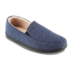 isotoner Peyton Men's Closed-Back Microterry Slippers