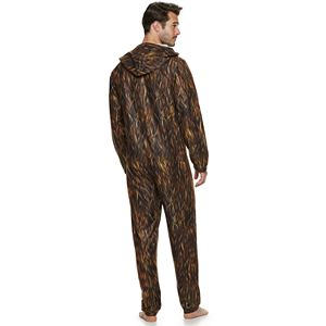 Men's Star Wars Chewbacca Lights Union Suit