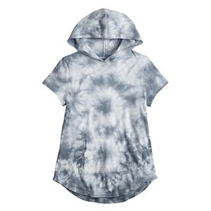 Girls 7-16 & Plus Size SO® Short Sleeve Hoodie Tee