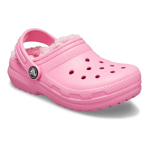 Crocs Classic Girls' Lined Clogs