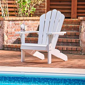 Shine Company West Palm Adirondack Chair Recycled Plastic
