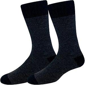 Men's Croft & Barrow® Marl Welt Wool-Blend Crew Socks