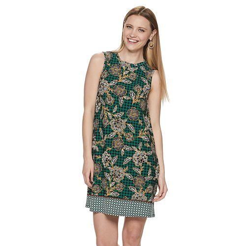 Petite Apt. 9® Print Swing Dress