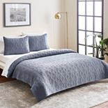 Scott Living Diamond Quilt Set or Euro Sham
