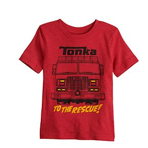 Toddler Boy Jumping Beans® Tonka Fire Truck Graphic Tee