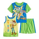 Disney / Pixar Toy Story Woody & Buzz Lightyear Tops & Shorts Pajama Set