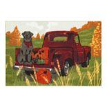 Celebrate Harvest Together Dog Truck Rug