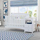 Delta Children Birkley Convertible Baby Crib N Changer