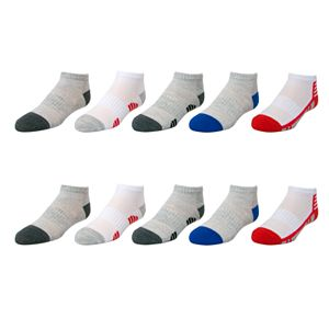 Boys Tek Gear® Lightweight 10-pack Low Cut Socks