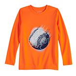 Boys 4-12 Jumping Beans® Baseball Active Graphic Tee