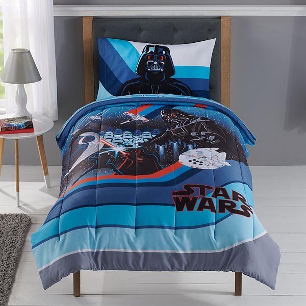 Star Wars Microfiber Comforter, Star Wars Bedding Queen