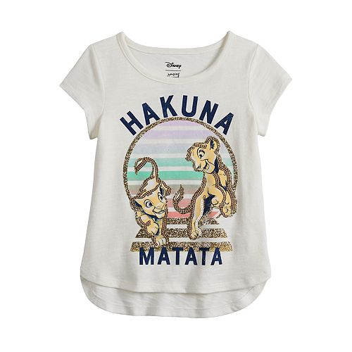 Disney's The Lion King Toddler Girl Hakuna Matata Graphic