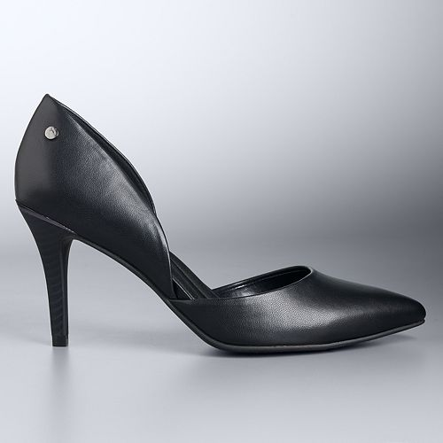 Simply Vera Vera Wang D'Orsay Women's Pumps