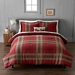Cuddl Duds Heavyweight Flannel Classic Plaid Comforter Set